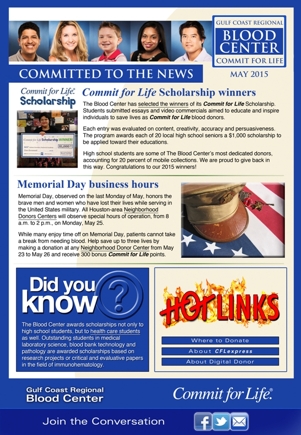 Commit for Life Newsletter