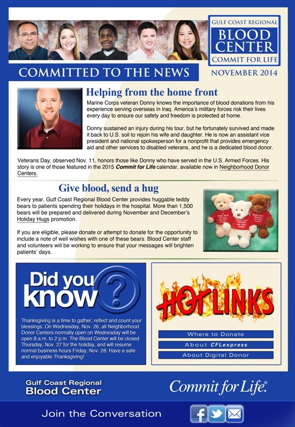 Commit for Life Newsletter